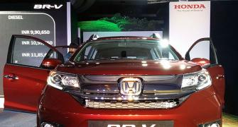 Honda BR-V to take on Hyundai Creta, Renault Duster