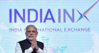 Modi inaugurates India's first international exchange