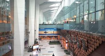 Which desi airport is 1 of the most followed on SM?
