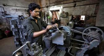 November factory output falls below October's