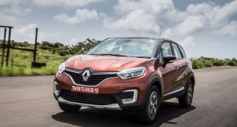 Renault Captur is clearly more upmarket compared to Duster