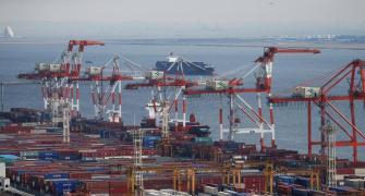 Exports fall 36% in May, trade deficit narrows