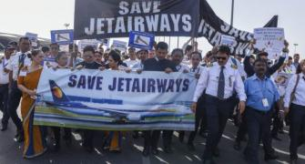 'Hear our cry, Let 9W fly': Jet Air employees
