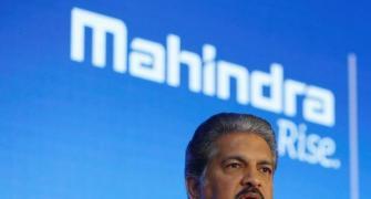 Anand Mahindra: 'I'm not vanishing!'