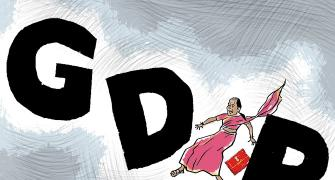 GDP growth sputters to 4.5%, weakest in over 6 years