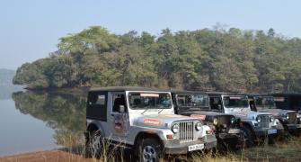 Off-roading with Mahindra Thar