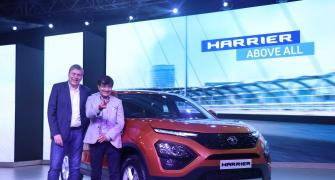 The Rs 12.69-lakh Tata Harrier hits Indian roads