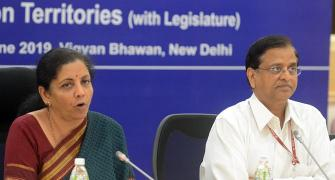 Sitharaman wanted me out: ex-finance secretary Garg