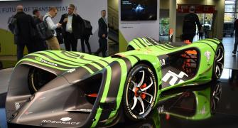Driverless Formula racing? With DevBot it's possible