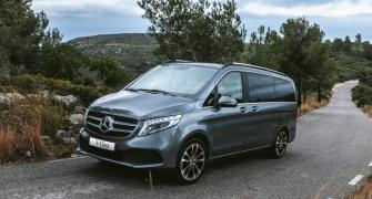The Rs 1.10-crore Mercedes V-Class Elite is here!