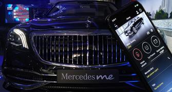 Now you can stay connected to your Merc with Me app