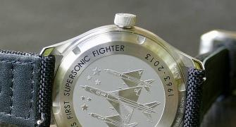 Want to wear a piece of MiG 21 jet on your wrist?