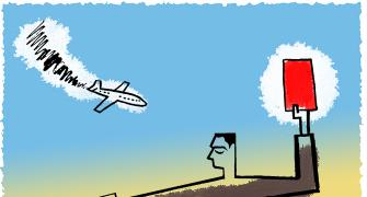 Fear of flying in the Indian skies