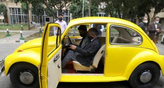 Vintage Beetle gets new life as electric car