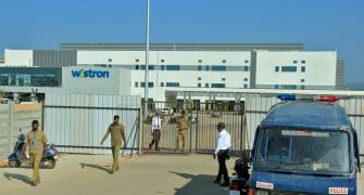 Wistron unit may restart in 15-20 days