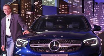 With GLC Coupe Merc makes it 4 launches in 4 months