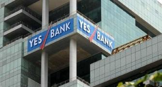 How much is YES Bank stock worth?