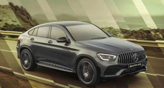 The Rs 76.7-lakh Mercedes GLC 43 4MATIC Coupe is here!