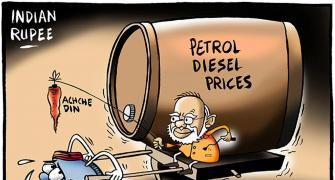 Oil levies cushion revenue shock for Modi