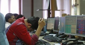 Sensex plunges 1,115 points; tech, bank stocks bleed