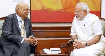 'I told Modi I'm an admirer of Indira Gandhi'
