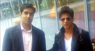 Spotted: Shah Rukh Khan in UK