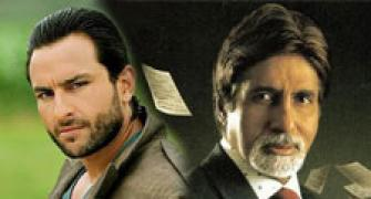Heavy police security for Aarakshan actors Amitabh and Saif