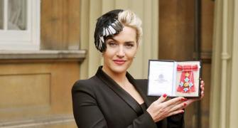 Kate Winslet receives Britain's highest award