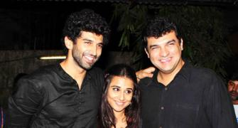 PIX: Vidya Balan, Aashiqui 2 team attend special screening