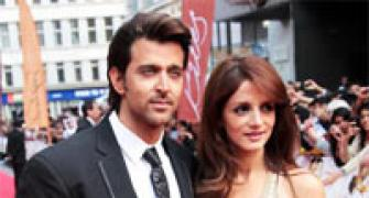 Hrithik Roshan, Sussanne to divorce