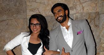 PIX: Ranveer Singh, Sonakshi Sinha at Lootera screening