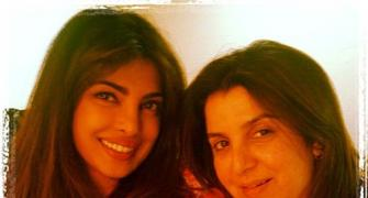 Priyanka Chopra shoots with Farah Khan