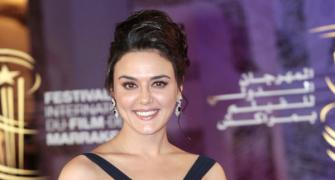 Preity Zinta: Each vote counts!