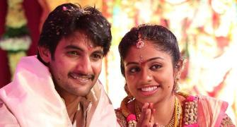 PIX: Telugu actor Aadi ties the knot