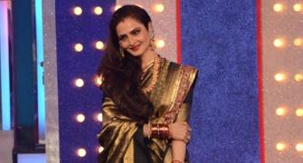 PIX: Rekha was the best thing to happen to TV this weekend!