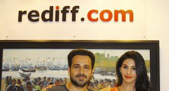 PIX: Mr X stars Emraan Hashmi and Amyra Dastur in Rediff!