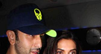 PIX: Ranbir, Deepika party together