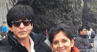 SPOTTED! Shah Rukh's Dilwale team in Iceland