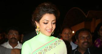 PIX: Kajal Aggarwal, Tamannaah mingle at a wedding