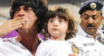 Pix: Shah Rukh's son AbRam turns 2