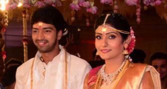 Political big-wigs, tinsel town grace Telugu actor Allari Naresh's wedding