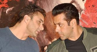 Do you know which director Salman has worked with the most?