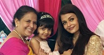3 generations of beauty: Vrinda, Aishwarya, Aaradhya