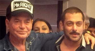 PIX: Salman, Arbaaz, Sohail celebrate dad Salim Khan's 80th birthday
