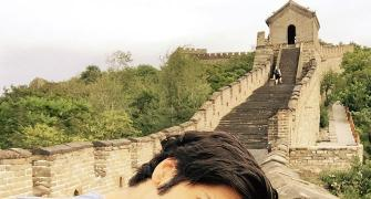 PIX: Ali Fazal visits China