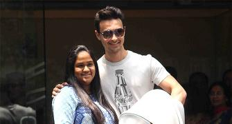 PIX: Arpita, baby Ahil discharged from hospital