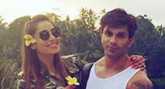 PIX: Bipasha-Karan's beautiful Bali holiday