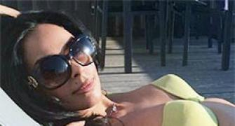 PIX: Mallika Sherawat's FANTASTIC French holiday