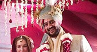 PIX: Arunoday Singh gets married
