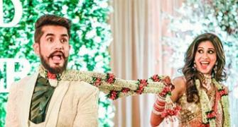 Kishwer-Suyyash's wedding pictures